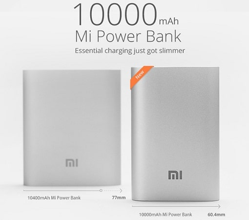 recensione xiaomi powerbank 10000mah design
