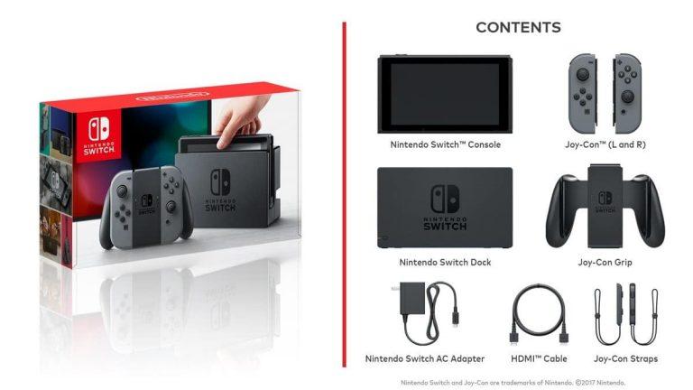 accesori basici nintendo switch