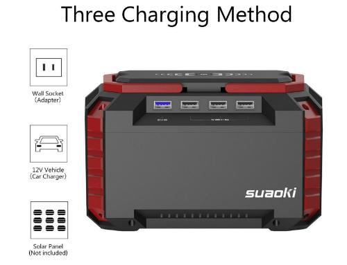 ricarica generatore solare portatile