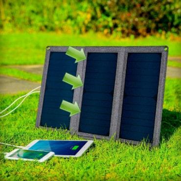 posizione caricatore solare