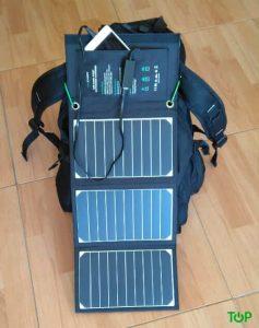 zaino caricabatterie solare Ravpower 16W